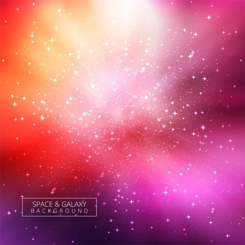 Resumen brillante fondo del universo galaxia