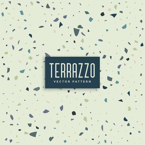 terrazzo abstract patroon achtergrondontwerp