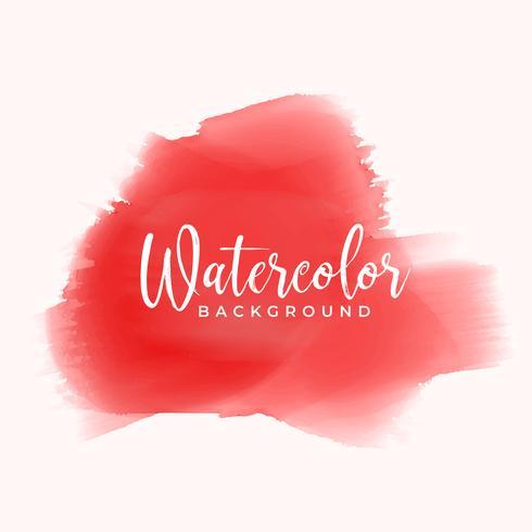 mão vermelha pintada em aquarela textura de fundo