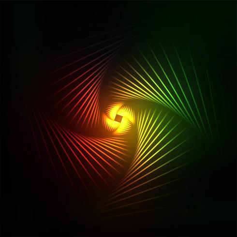 Abstracte kleurrijke swirl lijnen achtergrond