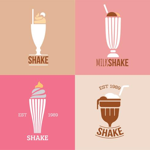 Beautiful Collection of Diner Milkshakes Logo