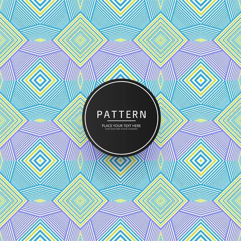 Modern kleurrijk geometrisch patroonontwerp