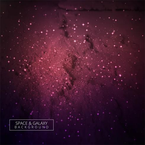 Galaxy universe colorful background illustration