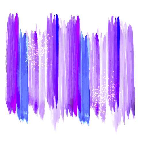 Main colorée abstraite dessiner des traits d'aquarelle