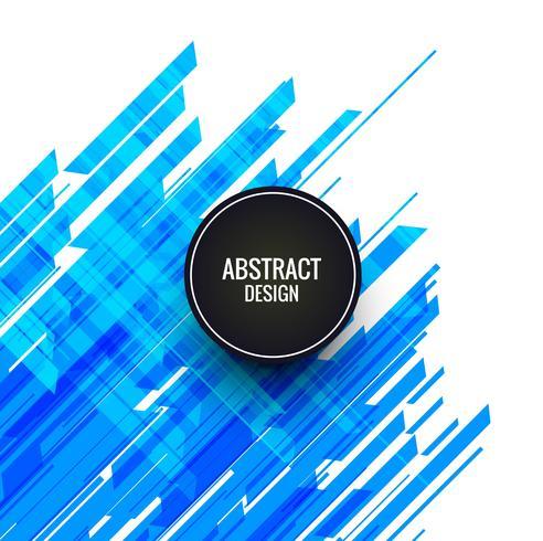 Abstrakte blaue Linien Hintergrund