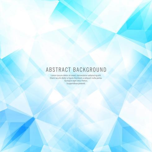 Abstracte blauwe geometrische veelhoekachtergrond