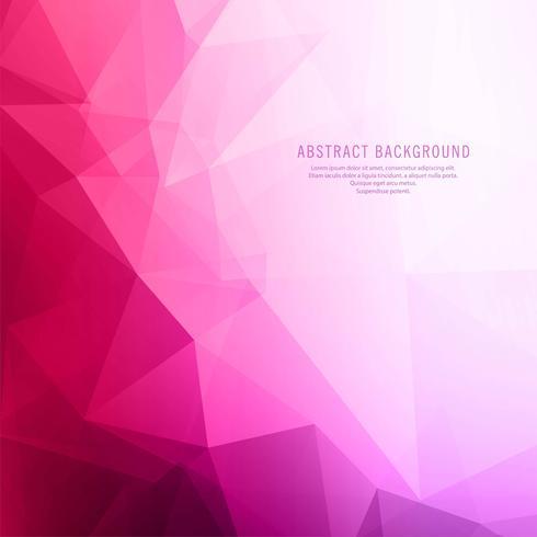 Ilustração de fundo moderno colorido brilhante polígono
