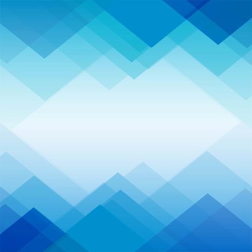 Fundo geométrico azul de polígono