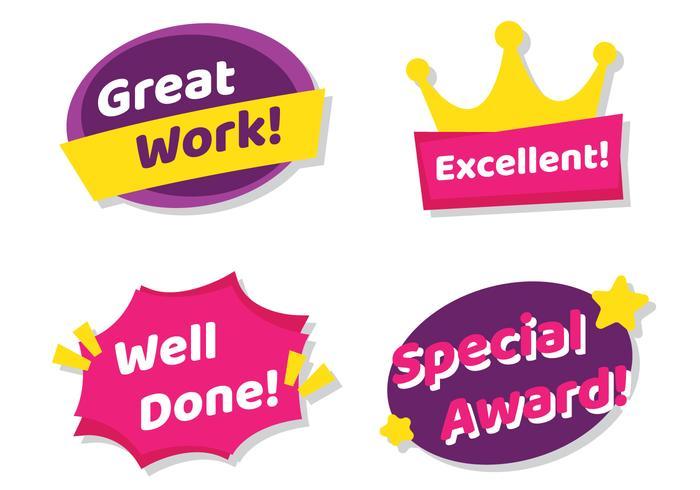 Teacher Award Stickers
