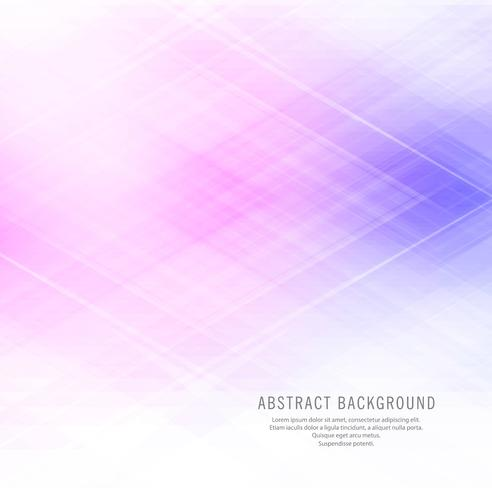 Beautiful elegant colorful geometric background