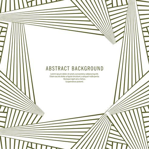 Fundo geométrico abstrato de linhas criativas