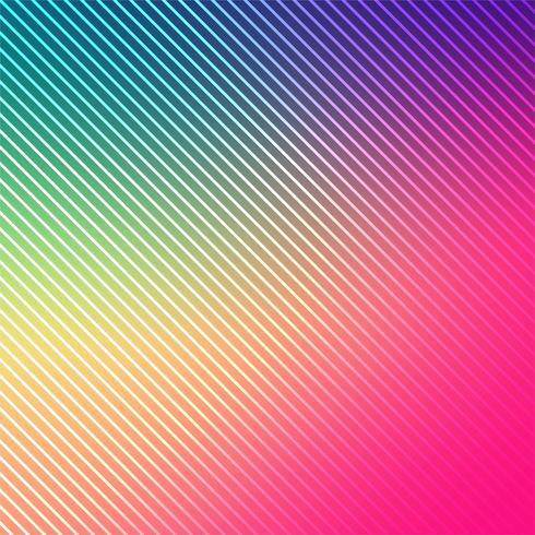 Abstracte heldere kleurrijke lijnenachtergrond vector