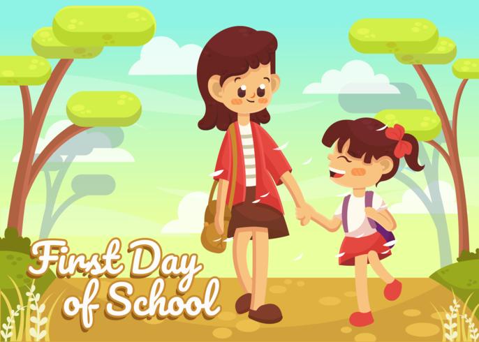 Primeiro dia do vetor de escola