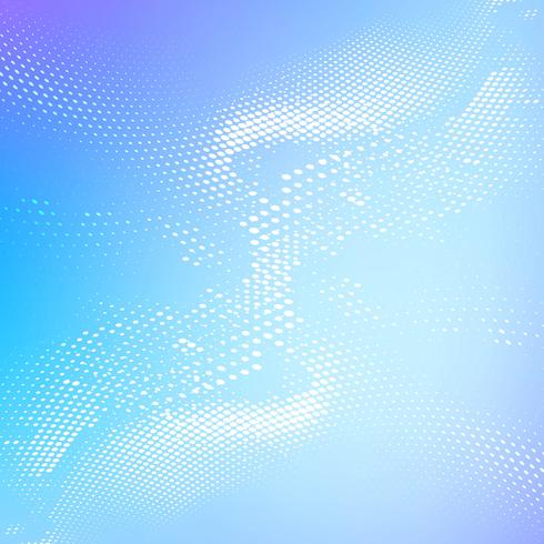 Abstract colorful shiny blue halftone background