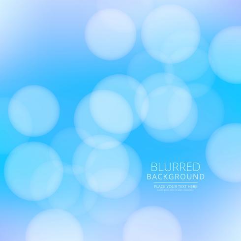 Vetor de fundo desfocado azul abstrato