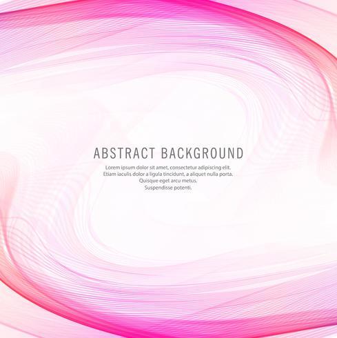 Priorità bassa di disegno dell'onda rosa astratta