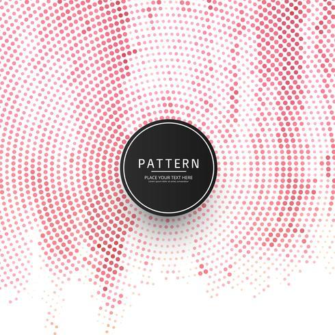 Moderner Halbtonbunter Musterhintergrund