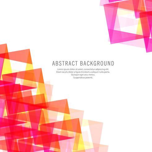 Abstracte kleurrijke veelhoekachtergrond