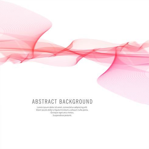 Abstrakter stilvoller rosa Wellenhintergrund