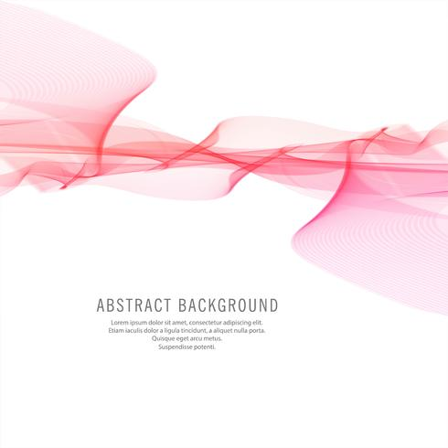 Abstracte stijlvolle roze golf achtergrond