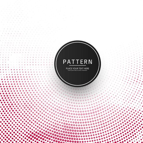 Fundo de padrão de pontos de meio-tom colorido moderno