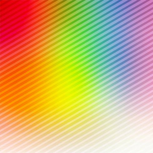 Abstract colorful bright lines background vector