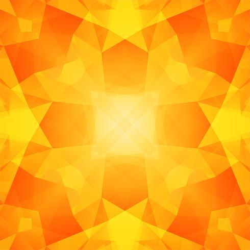 Fundo abstrato polígono amarelo