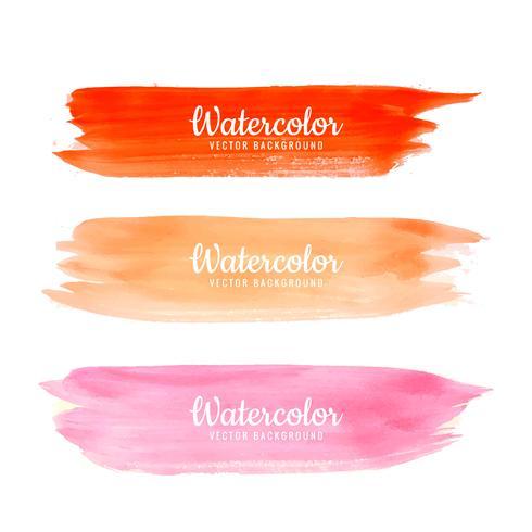 Hand getrokken aquarel lijn kleurrijke schaduw achtergrond