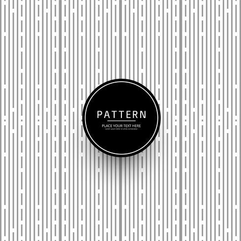 Vacker kreativ grå geometrisk mönsterdesign