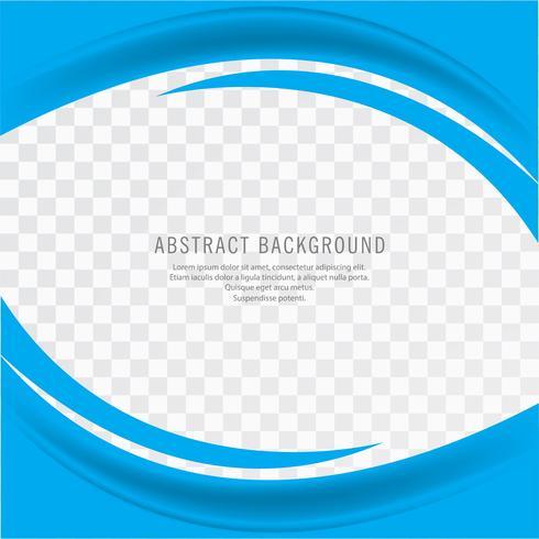 Fundo ondulado abstrato azul negócios criativos