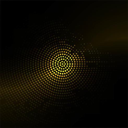 Abstracte glanzende kleurrijke halftone achtergrond vector