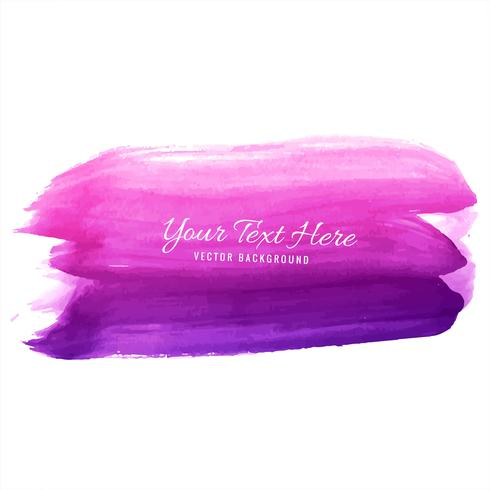 Modern pink watercolor strokes background