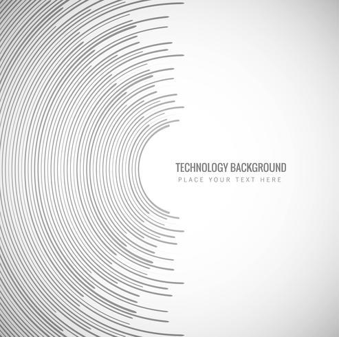 Fundo moderno de tecnologia criativa