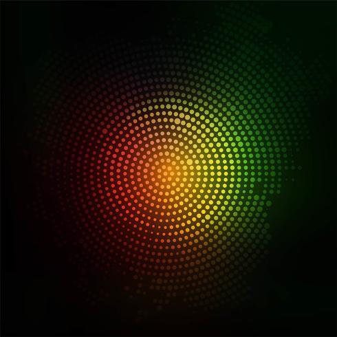 Fundo abstrato colorido brilhante de meio-tom