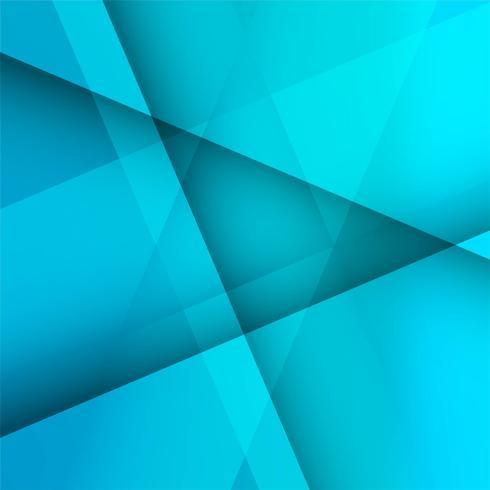 Fundo geométrico azul brilhante abstrato