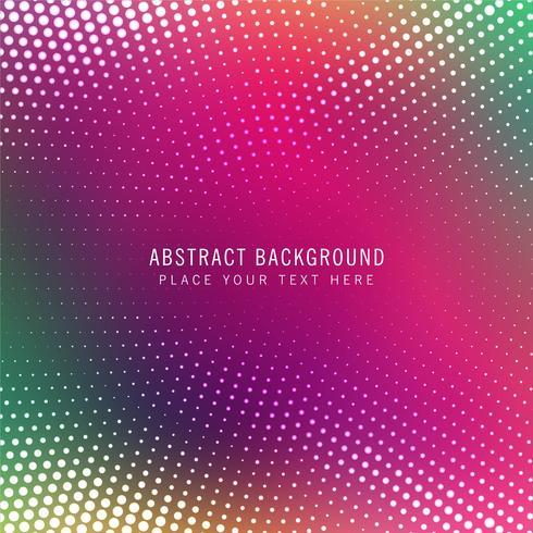 Fundo de vetor abstrato colorido de meio-tom