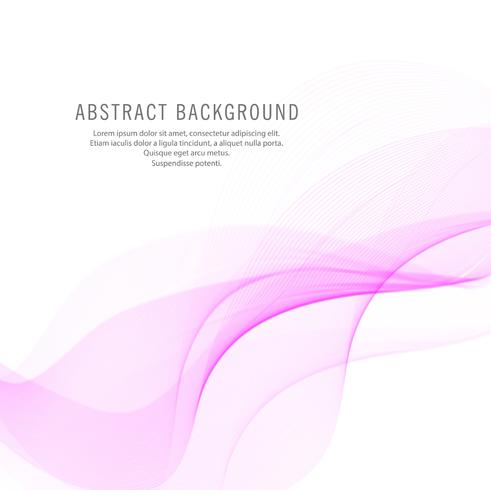 Abstract stylish pink wave background