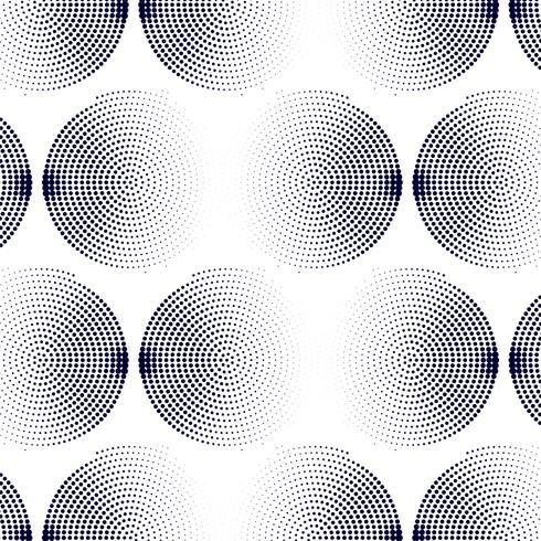 Modern halftone pattern background