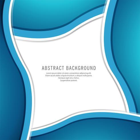 Abstrait vague élégante créative