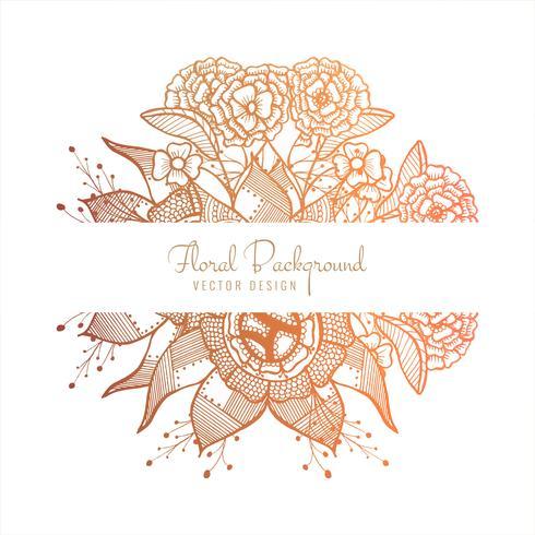 Design floral lindo casamento colorido