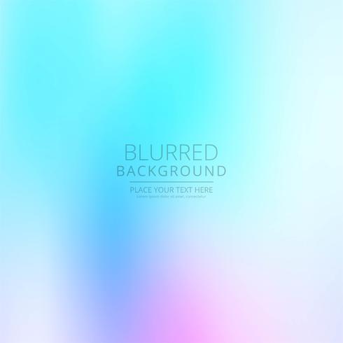 Abstracte kleurrijke wazig vector achtergrond