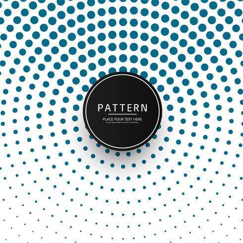 Beautiful circular halftone pattern design