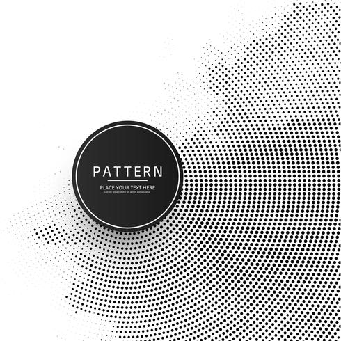 Beautiful circular halftone background