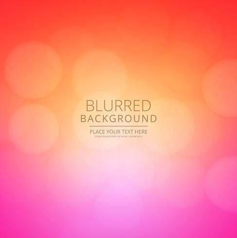 Modern elegant colorful blurred background