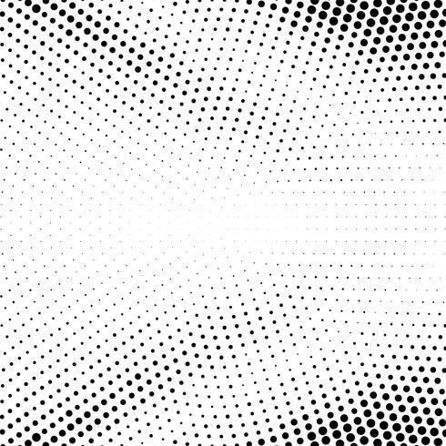 Resumen puntos de semitono vector ilustración de fondo