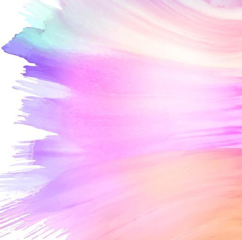 Bela mão colorida desenhar fundo aquarela de traçado
