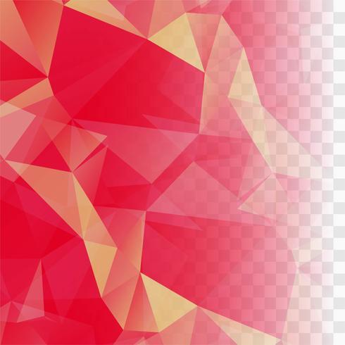 Modern pink polygon vector background