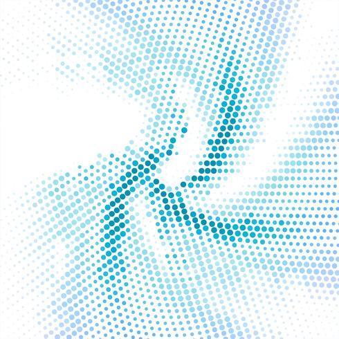 Illustrazione di semitono sfondo moderno turbolenza blu