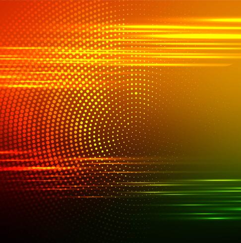 Modern colorful brigth glowing background