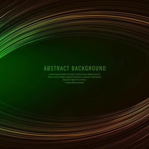 Beautiful creative colorful lines background wave